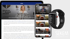 iOS Android App for SEKEM News now downloadable