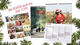 SEKEM Calendar 2019: Sustainable Christmas with the SEKEM Shop