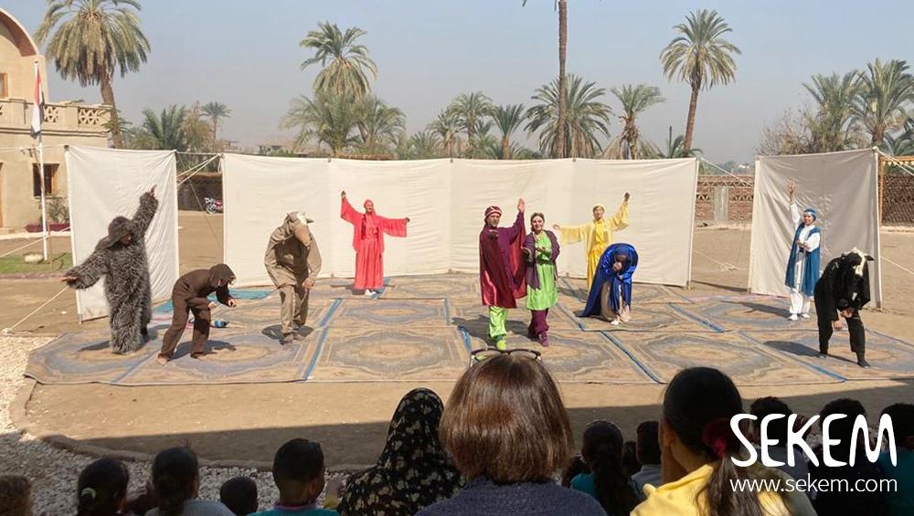 Von Kairo nach Luxor: Eurythmie vor historischer Kulisse