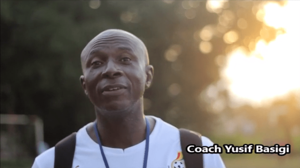 Yusuf Basigi competes with two others for NASCO Coach of the Month