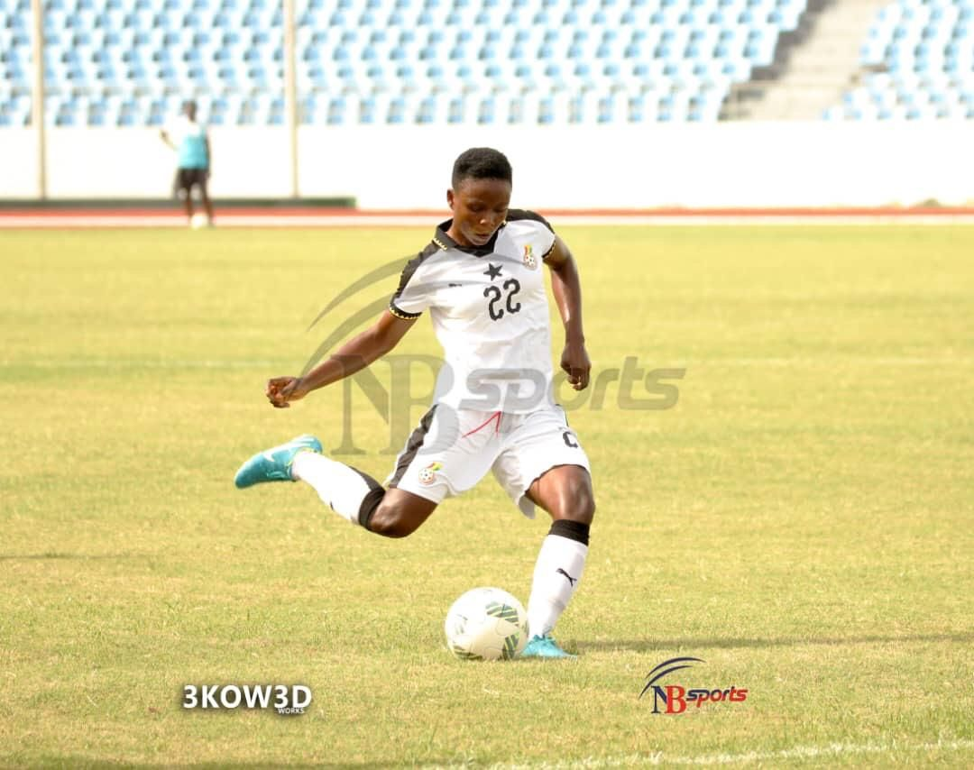 Evelyn Badu scores in Black Queens 3-0 thumping of Royal FC