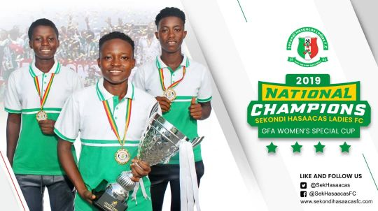 Champions Hasaacas Ladies back again on January 17