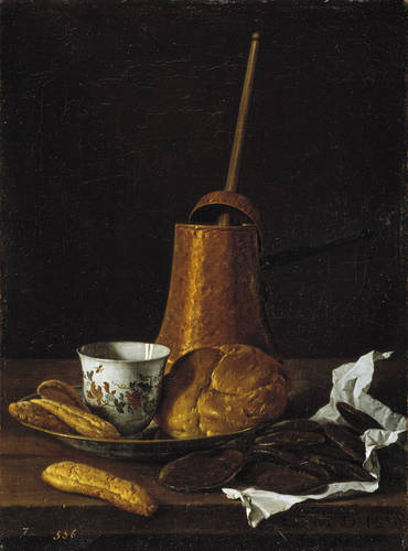 Martwa natura z serwisem do czekolady - Muzeum Prado