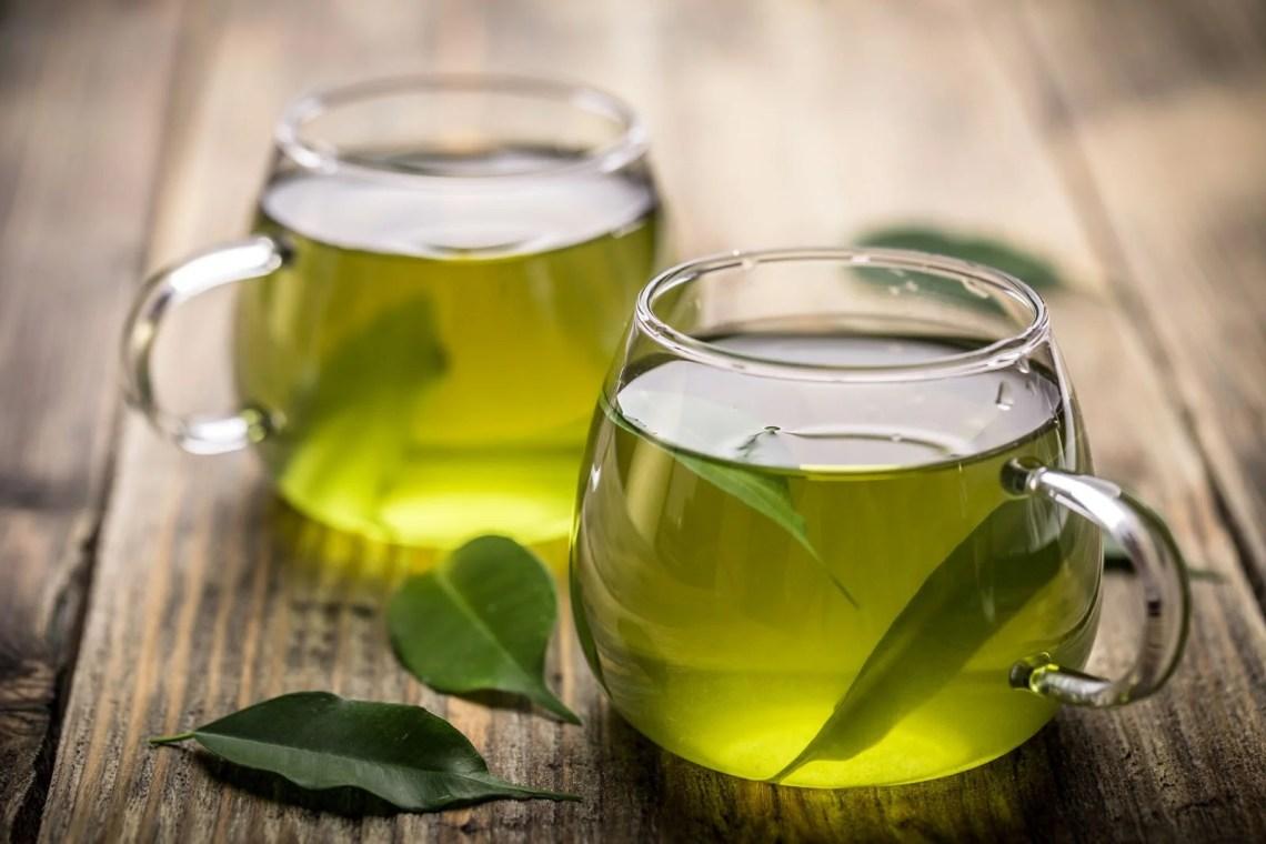 zielone herbata kubek