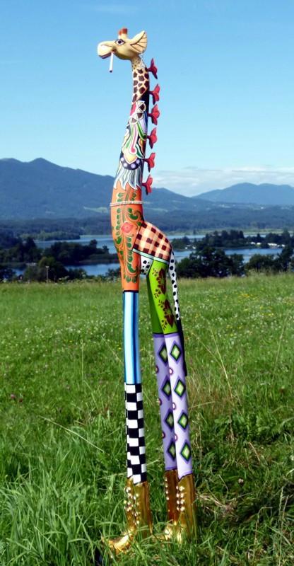 Toms Drag Giraffe Sculpture ROXANNA DELUXE 020
