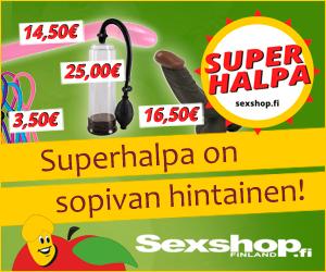 Superhalvat seksilelut - SexShop.fi