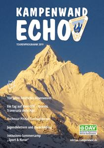 Kampenwand Echo Tourenprogramm 2019