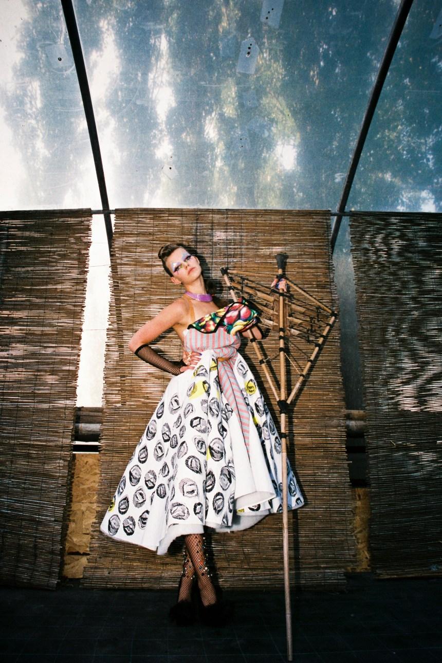Bamboo Girl for Huff magazine
