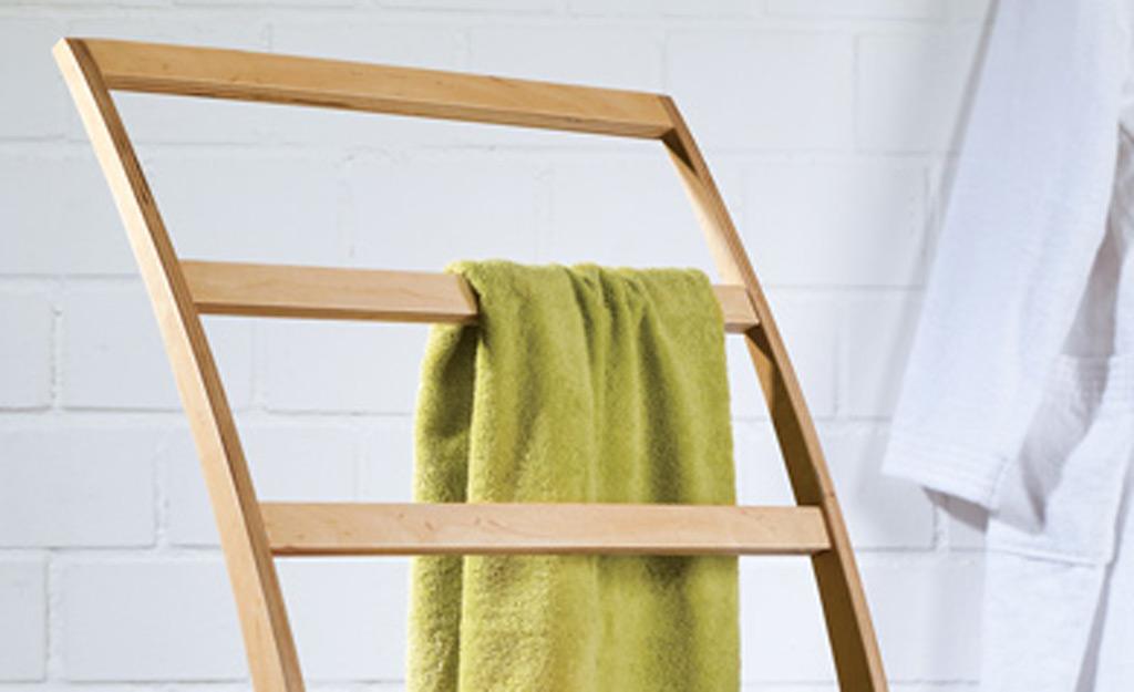 Leiter Handtuchhalter Selbstde