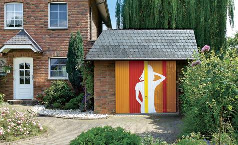 Galerie Der Selbst Bemalten Garagentore
