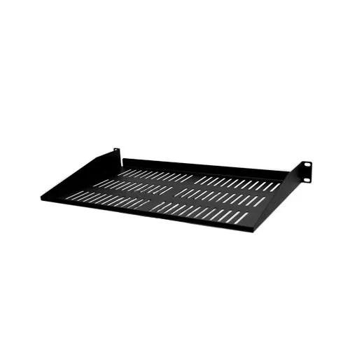 1u 19in x 267mm vented rack shelf fs1u105