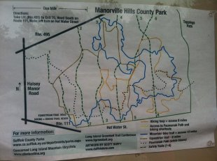 Manorville Map