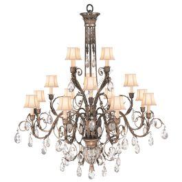 fine art lamps chandelier 136740st