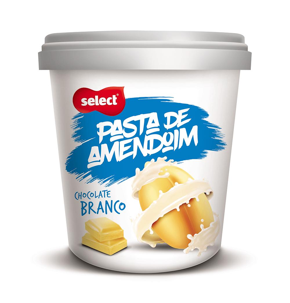 Pasta de Amendoim Chocolate Branco 454g