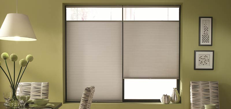 Blinds Bottom Open Top And Window