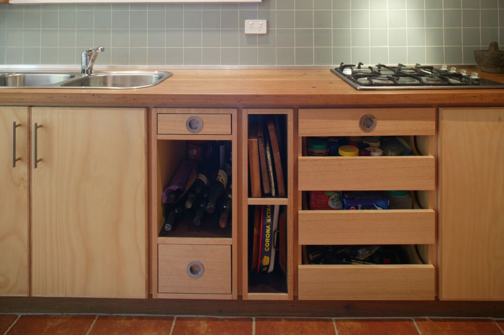Select Custom Joinery Plywood Kitchen With Recycled
