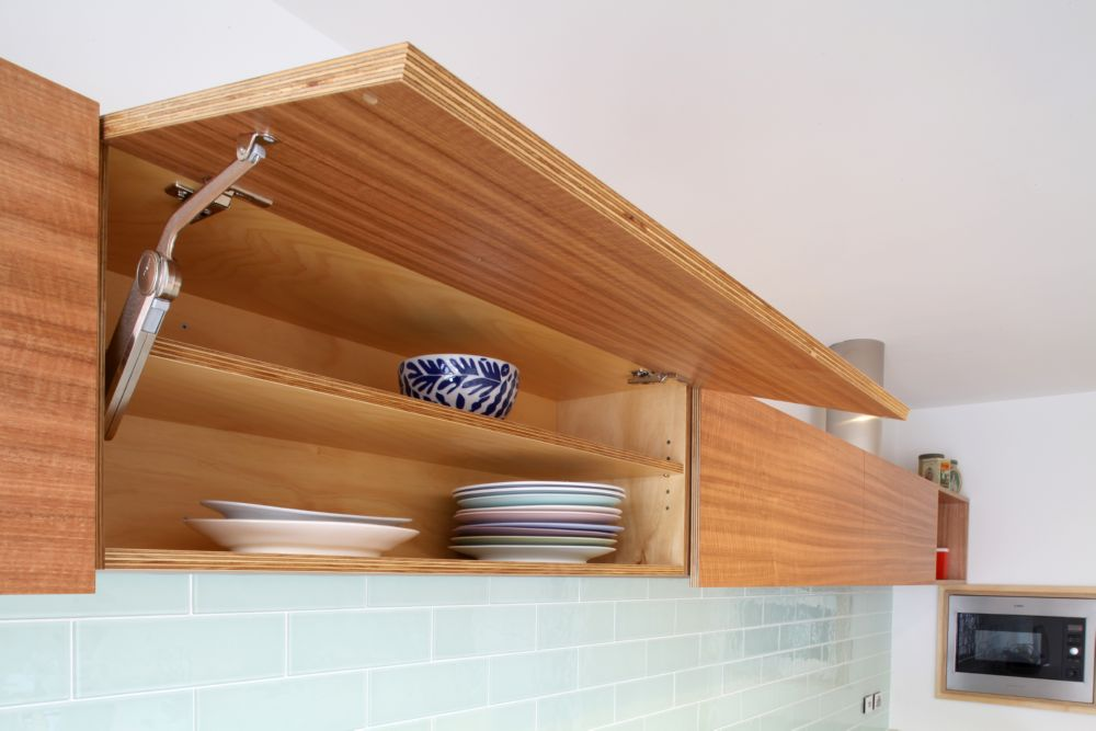 Select Custom Joinery Plywood Kitchen With Concrete Bench Top