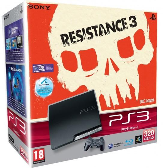 Bundle - Console Playstation 3 com o game Resistance 3