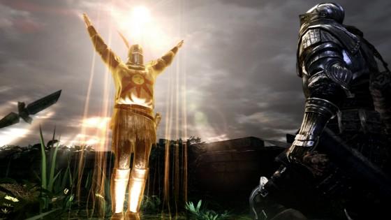 Dark Souls Covenant Warrior of Sunlight