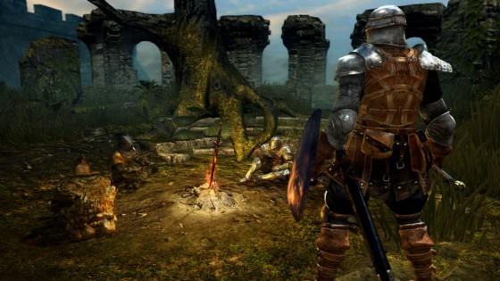 Dark Souls Firelink Shrine