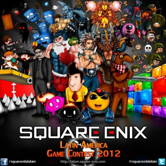square-enix contest brasil