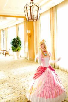 cosplay princesa peach