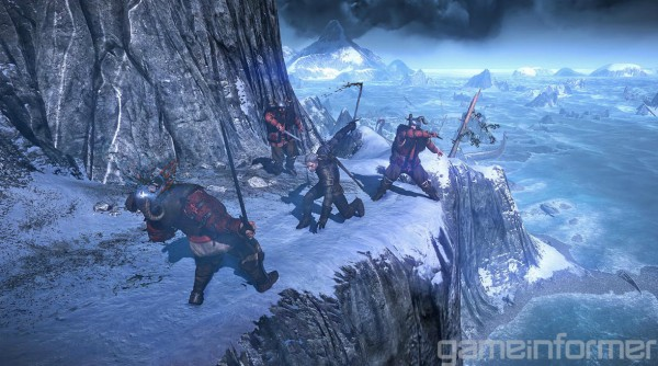 The Witcher 3 Snow Mountain