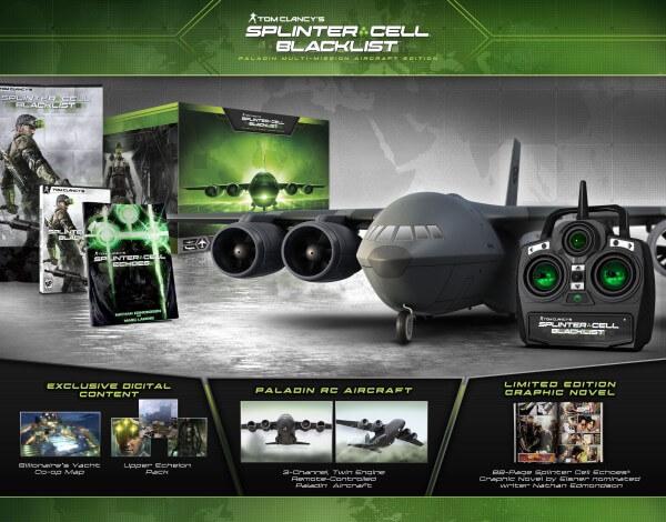 Splinter Cell Blacklist Paladin Multi-Mission Aircraft Edition