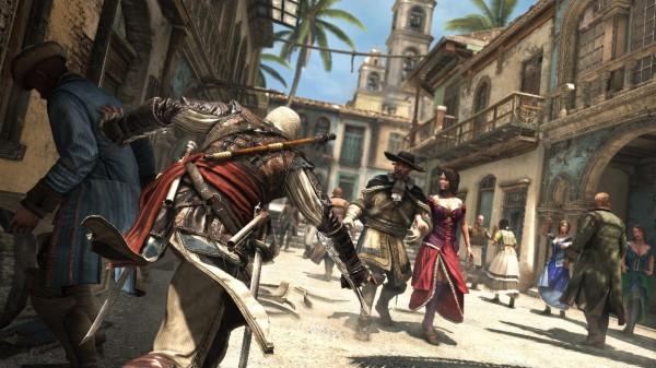 Assassin's Creed IV Black Flag Screenshot City