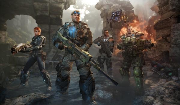 Gears of War Judgment Characters Screenshot