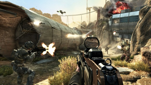 Call of Duty Black Ops Multiplayer Turbine Fallen Tower