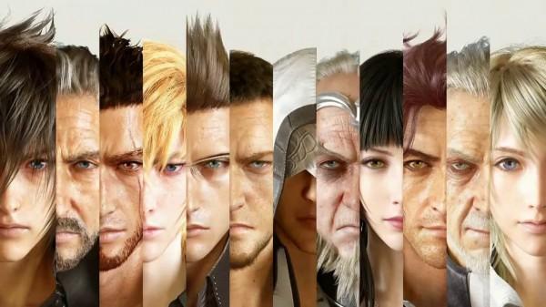 Final Fantasy XV Personagens