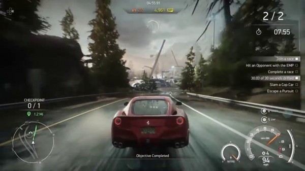 Need For Speed Rivals - Race Gameplay Screenshot