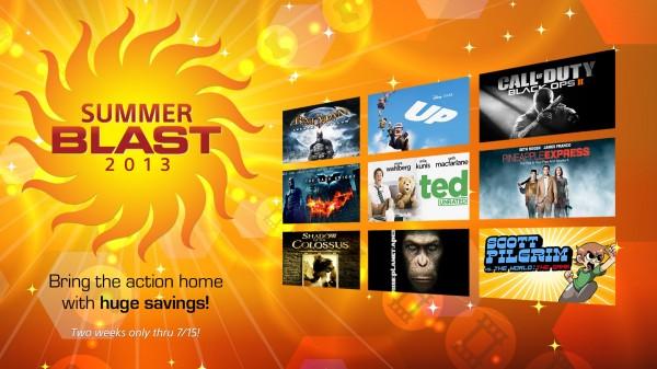 PSN Summer Blast 2013 PSN Store