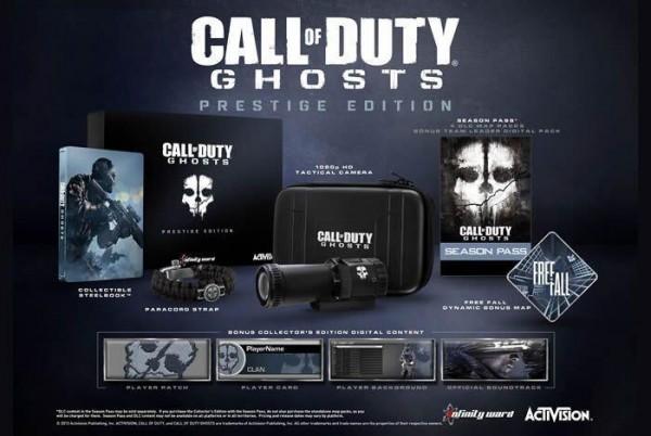 Call of Duty Ghosts Prestigie Edition