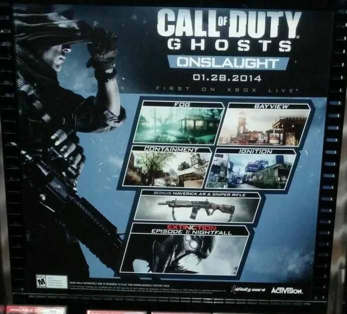 Call of Duty Ghosts - Onslaught - Poster