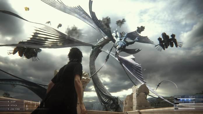 Final Fantasy XV - Noctis e o Leviathan