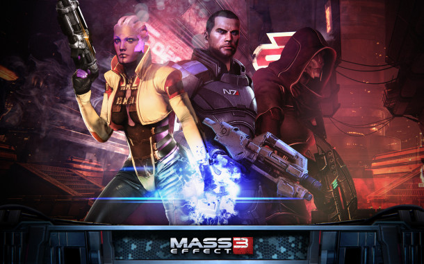 Mass Effect 3 - Wallpaper HD - Omega - 1920x1200