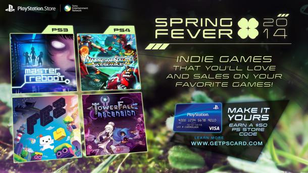 PSN Store - Spring Fever 2014 - Divulgacao