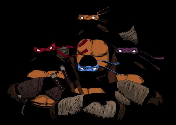 Tartarugas Ninja - Art - TMNT - Turtles