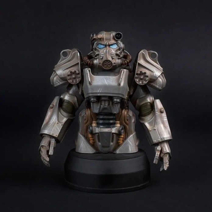 Fallout 4 - T-60 Power Armor Bust - Frente