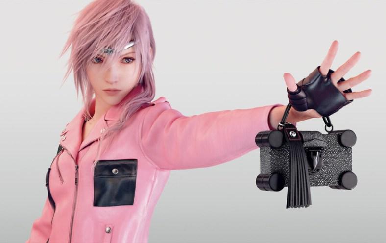 Louis Vuitton - Campanha com a Lightning - Final Fantasy XIII - 01