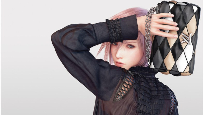 Louis Vuitton - Campanha com a Lightning - Final Fantasy XIII - 02