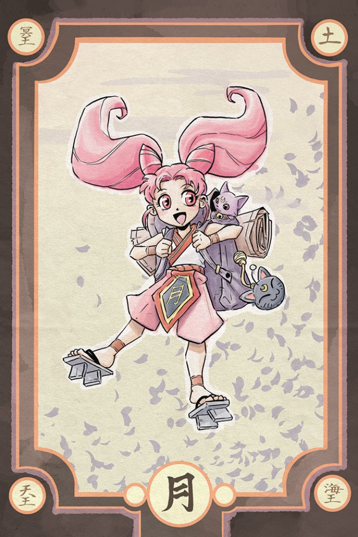 Sailor Moon - Traveler Chibi Moon - Samurai Style