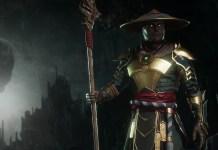 Raiden em Mortal Kombat 11 - Topo
