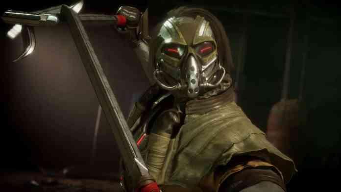 Kabal em Mortal Kombat 11 - Imagem do lutador