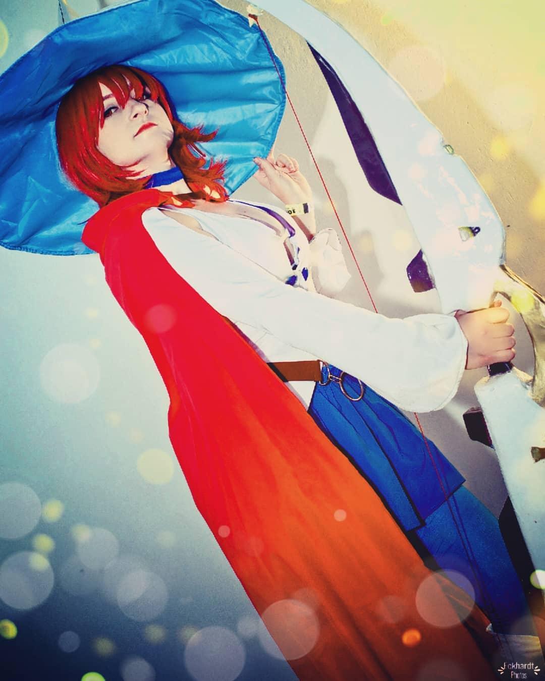 Cosplay Feminino da Shiny Chariot - Little Witch Academia - Foto Anime Netflix 02
