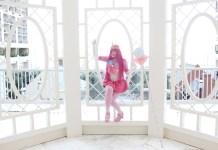 Cosplay da Princesa Jujuba em estilo Sailor Moon - Adventure Time
