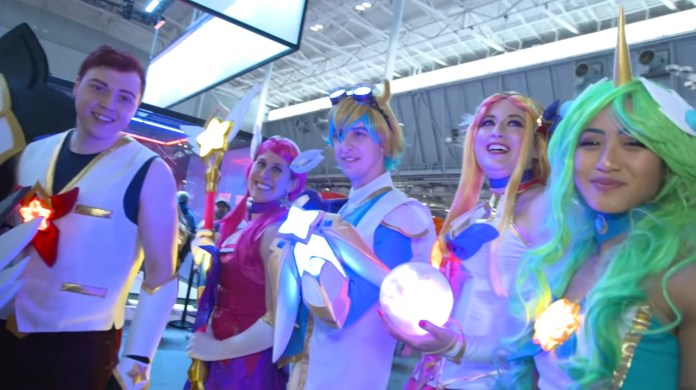 Cosplays de League of Legends na PAX East 2019