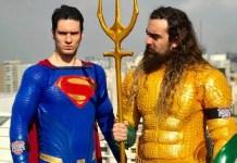 Aquaman e Superman - Cosplays da DC Comics
